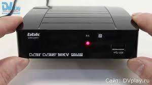<b>BBK</b> SMP012HDT2 - обзор DVB-T2 ресивера - YouTube