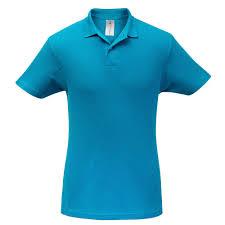 <b>Рубашка поло ID.001</b> бирюзовая - Рекламная группа KIOSK