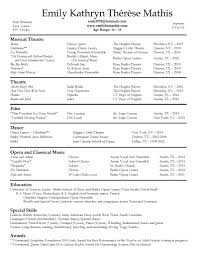 performance resume emily kathryn therese mathis artist resume 2016 website