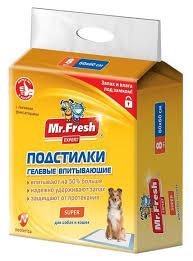 <b>Пеленки</b> для собак впитывающие Mr. Fresh <b>Expert</b> ... — купить по ...
