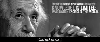 Albert Einstein Quotes About Knowledge. QuotesGram via Relatably.com