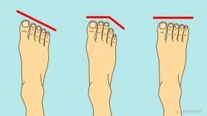 here are some secrets your foot shape can tell about your personality