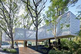huaxin business center beautiful office building