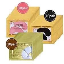 RubyShopUU 60pcs/Bottle <b>EFERO</b> Collagen Eye Mask <b>Anti Wrinkle</b> ...