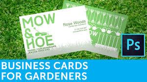 how to design a landscape gardener business card in adobe how to design a landscape gardener business card in adobe photoshop solopress video tutorial