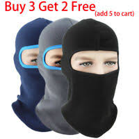 Hats & Headwear Snow <b>Sports Motorcycle Mask</b> Black Ninja ...