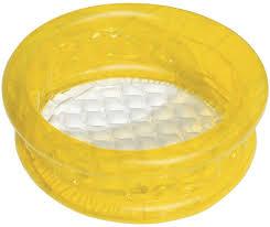 <b>Bestway Бассейн надувной детский</b>, 26 л. Желтый.
