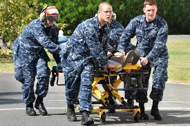 u s department of defense photo essay an american employee of the u s embassy is transported to the u s naval hospital at guantanamo
