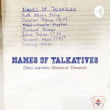 Names of Talkatives