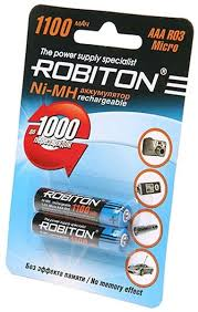 <b>аккумулятор Robiton</b> 1100 mAh R03/<b>AAA</b>-2BL по самой выгодной ...