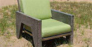 concrete chair outdoor furniture natural concrete artistry hamilton mi browse cement furniture