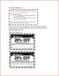 doc printable coupon templates com 7 microsoft word coupon template