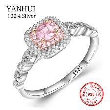 <b>YANHUI</b> Fine Jewelry Royal Princess <b>Original Solid 925</b> Silver ...