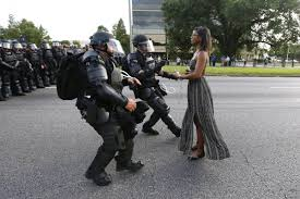 the biggest issue for police business insider a demonstrator protesting the shooting death of alton sterling is detained by law enforcement near the headquarters of the baton rouge police department in