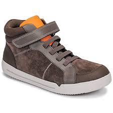 Clarks <b>EMERY</b> BEAT K Brown - <b>Shoes High top</b> trainers Child 59,95 €