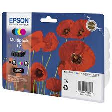 Комплект <b>картриджей Epson</b> 17 Multipack (<b>C13T17064A10</b> ...