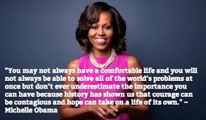 Michelle Obama Quotes On Women. QuotesGram via Relatably.com