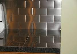 kitchen backsplash stainless steel tiles: awesome awesome stainless backsplash tile stainless subway tile backsplash kitchen pinterest subway tile