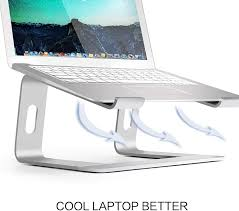 Soundance <b>Aluminum Laptop Stand</b> for Desk Compatible with Mac ...