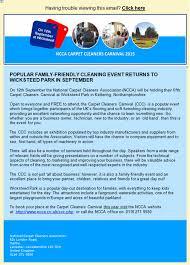ncca s carpet cleaners carnival returns cleanfax ncca carpet cleaners carnival flyer 2015