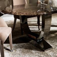 hardware dining table exclusive: high  oval high end marble italian dining table set