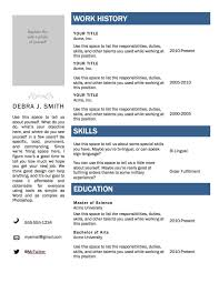 quick resume templates related post of quick resume templates