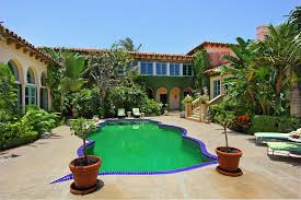 stunning spaces moroccan style meets palm beach