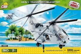 Пластиковый <b>конструктор COBI</b> «Тяжелый грузовой вертолёт» с ...