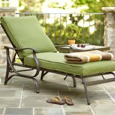 cliff custom metal outdoor chaise lounge