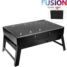 <b>LARGE FOLDABLE</b> STEEL <b>BBQ BARBECUE</b> FLAT P- Buy Online in ...