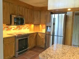 kitchen update granite appliances tile back splash brookside kitchen lighting