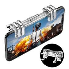Six <b>fingers Gaming Trigger</b> For Mobile Phone PUBG L1R1 Shooter ...