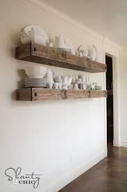 diy floating shelf plans for the dining room shanty 2 chic build floating shelves