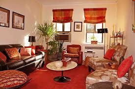 orange bedroom ideas living