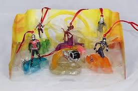 Disney Authentic Ant Man & The Wasp Christmas Ornament <b>6pc Set</b> ...