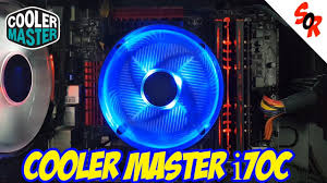 <b>COOLER MASTER i70c CPU</b> COOLER REVIEW !!! + ...