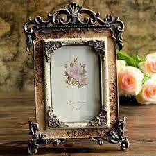 <b>Vintage 6 Inch</b> Photo Frame Desk Decoration <b>European Retro</b> Resin ...