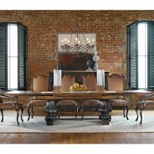 The Brick Dining Room Sets Dining Room Beautiful Trestle Table Sets With Brick Wall And