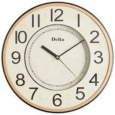 <b>Часы</b> настенные <b>DELTA DT7</b>-<b>0009</b> d-30*30*3,5см (1/20)