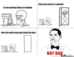 Mom Actually Did Close The Door. by pavelow - Meme Center via Relatably.com