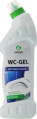 """<b>Чистящее средство</b> для туалета и ванной <b>Grass</b> """"<b>WC</b>-Gel"""", 750 мл"""