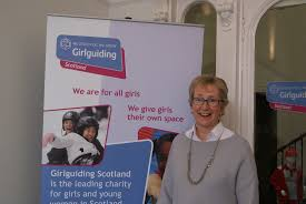 meet our new president girlguiding scotland how would you describe yourself in 5 words