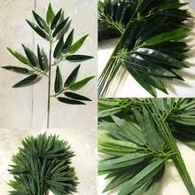 <b>artificial bamboo leaves</b>