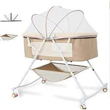 <b>Crib</b> Newborn Multi-Function Comforting Baby <b>Portable</b> Baby ...