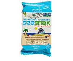Sea Snax <b>Seaweed</b> - <b>Classic Olive</b> - Mindful Snacks