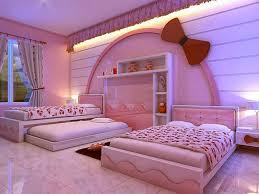 Little Girls Bedroom Decorating Kids Room Modern Hello Kitty Girl Bedroom Decoration With Pink