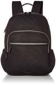 Vera Bradley <b>Women's Performance</b> Twill Campus <b>Backpack</b>, Black ...