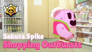 <b>Brawl Stars</b>: Sakura <b>Spike</b> - Shopping Outbursts