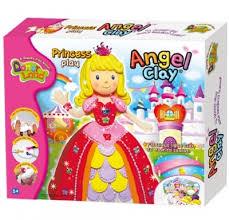 <b>Игровой набор</b> глины <b>Angel</b> Clay для творчества Princess Play ...
