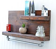 country themed reclaimed wood bathroom storage: rustic bathroom decor bathroom shelf bath shelving wall shelf bath decor bathroom storage bath storage bathroom shelf bath shelf